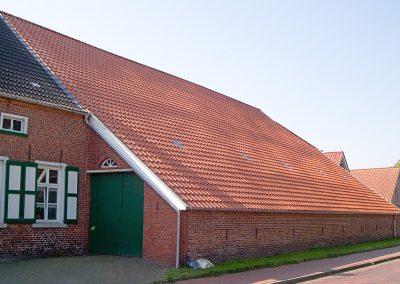 Dachsanierung Landwirtschaftliches Gebäude