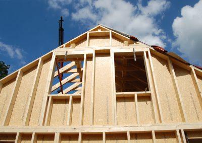 Einfamileinhaus Holzrahmenbauweise in Bollingen