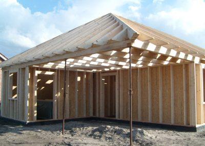 Einfamilienhaus Holzrahmenbauweise Ostrhauderfehn